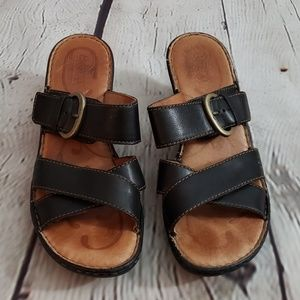 Born leather sandles sz 10M
